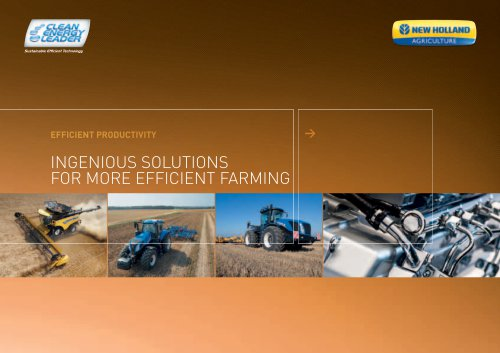 Ingenious solutions for more efficient farming