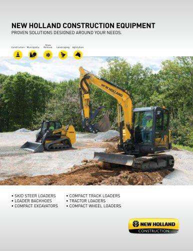 NEW HOLLAND CONSTRUCTION EQUIPMENT