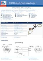 CENO Ethernet Slip Ring ACN-04P1-02EG