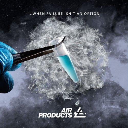 Cryogenic freezer brochure