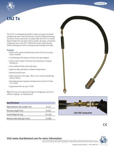MVE LN2 TX Transfer Hose