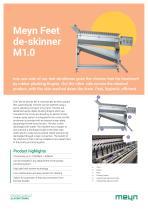 Meyn Feet de-skinner M1.0