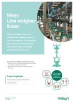 Meyn Line weigher linear