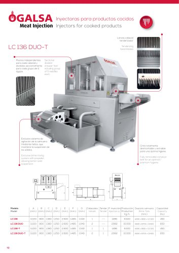 LC 136 DUO-T