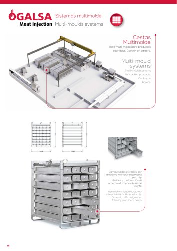 Multi-moulds systems