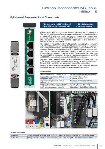 SPD for Ethernet port | NSBon-15