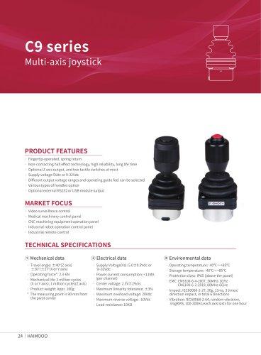 C9 Fingertip 3D joystick