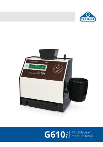 G610i Portable grain moisture tester