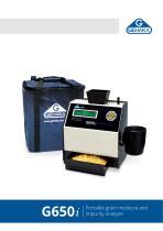 G650i Portable grain moisture and impurity analyzer