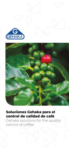 Gehaka solutions for the quality control of coffee