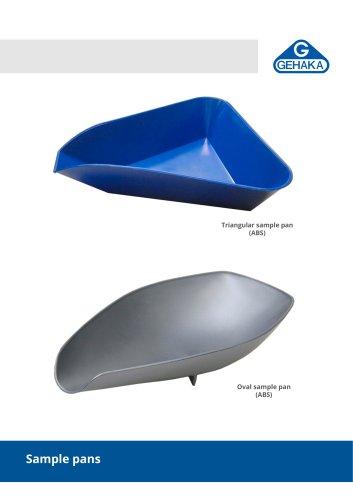Sample pans