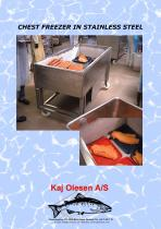 CHEST FREEZER IN STAINLESS STEEL