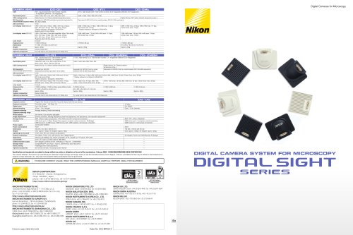 Digital Sight Series Brochure