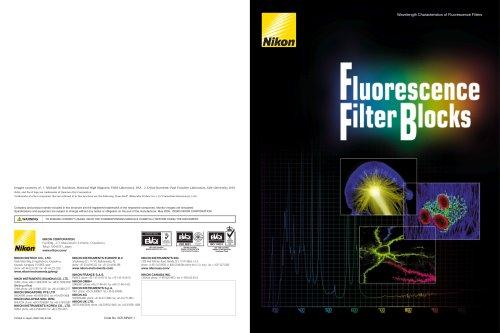 Fluorescence Filter Blocks