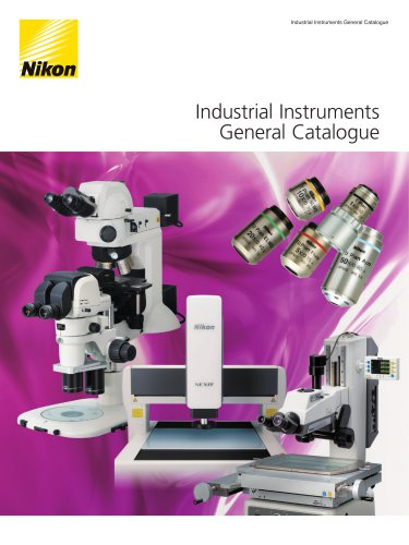 Industrial Instruments General Catalogue