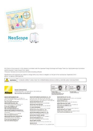 JCM 6000 Plus Neoscope