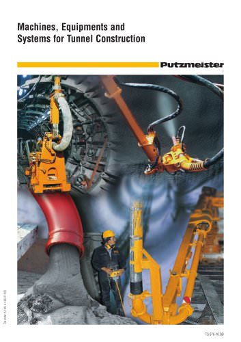 Machines, Equipments and Systems for Tunnel Construction (TS 876)