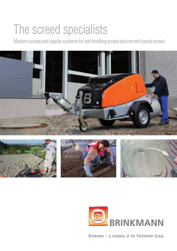 The screed specialists