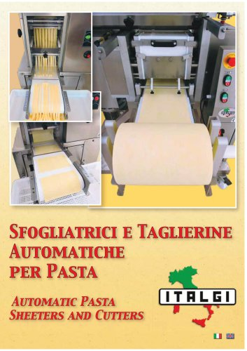 Automatic PastaSheeters and Cutters