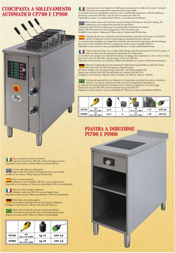 Electric pasta cooker