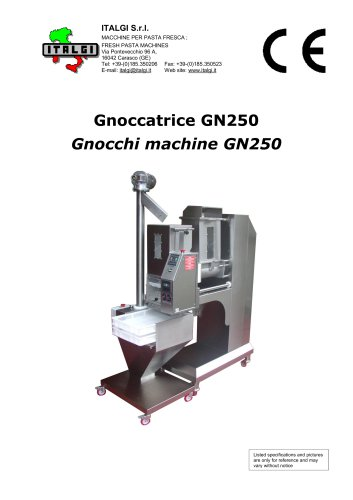 Gnoccatrice GN250