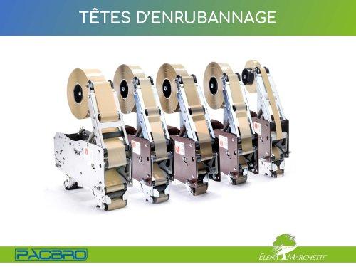 TÊTES D'ENRUBANNAGE