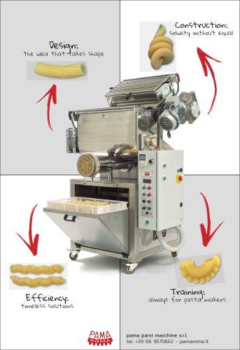 Extruder pasta machine