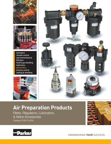 Filters, Regulators, Lubricators, & Airline Accessories Catalog 0700P-5