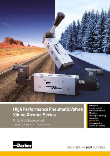 High Performance Pneumatic Valves Viking Xtreme Series