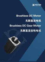 3X MOTION BLDC MOTOR & GEARED MOTOR