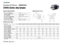 Brushless Motor/Three-phase/57BYA Series