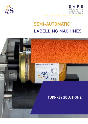 Semi automatic labelling systems