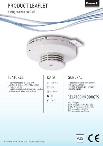 Analog heat detector 3308