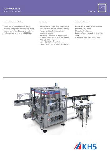 Innoket RF 22 Labeling Machine