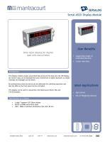 SERIALDIS Product sheet