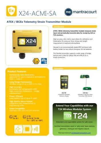 X24-ACMI-SA Product sheet