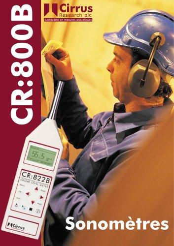 CR:800B Sonomètres