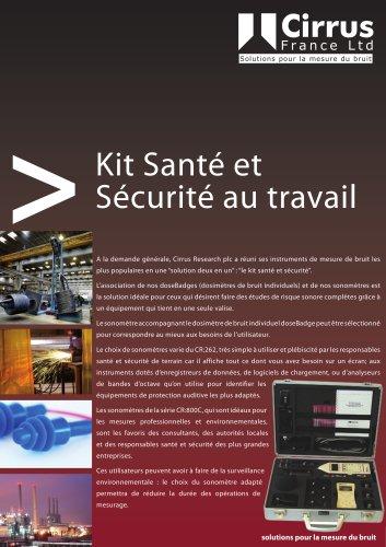Kit Santé et Sécurité au travail