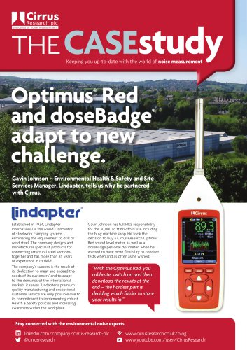 Optimus Red and doseBadge adapt to a new challenge