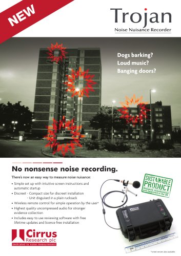 Trojan Noise Nuisance Recorder
