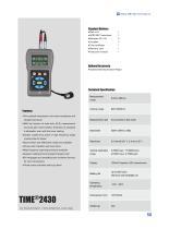TIME2430 Advanced Ultrasonic Thickness Gauge