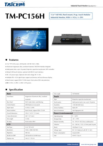 TAICENN/Monitor/TM-PC156H