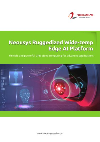 Neousys Ruggedized Wide-temp Edge Al Platform
