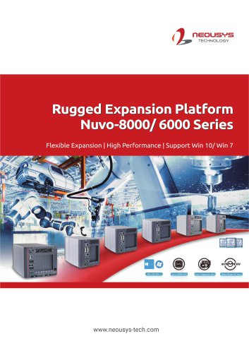 Rugged Expansion Platform Nuvo-8000/ 6000 Series