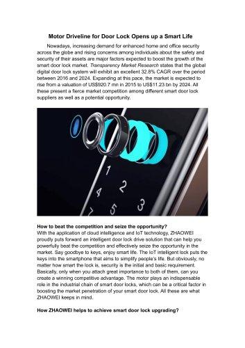 Smart Door Lock DC Motor 3v 12v 24v Low RPM High Torque Low Noise