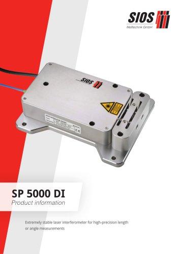 Differential interferometer SP 5000 DI