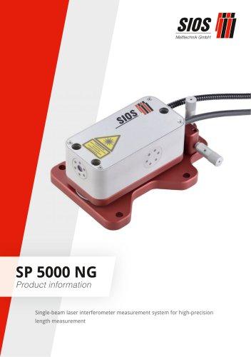 Laser interferometer SP 5000 NG