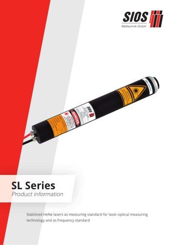 Stabilized HeNe lasers SL Series