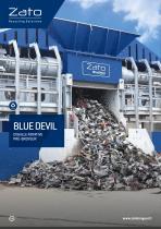 BLUE DEVIL Cisaille Rotative Pré-Broyeur - 1