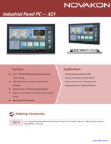 Industrial Panel PC X21